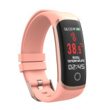 Best Quality Excellent Price Full Touch Screen Smart Bracelet Thermometer Smart Watch