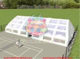 High Quality Inflatable Tennis Court Hall/Inflatable Sports Tennis Court Tent for Sle