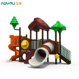 Chinese Factory Professional Good Price Kids Playset Outdoor Plastic Slide Equipment Playground for Toddlers