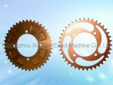 Custom Motorcycle Aluminum 420 Sprocket with Anodized