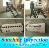 Solar Water Heater Quality Inspection Service / During Production Inspection / Pre-Shipment Inspection / Container Loading Inspection