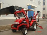Tractor with Backhoe and Loader with ISO, SGS