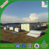 Portable/Movable/Mobile/Prefabricated Sandwich Panel House for Congo Project, Comfortable Living Container House
