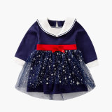 Baby Girl Dress 2020 New Style Princess Style with Long Sleeve for Spring or Autumn