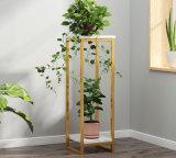 Kd Modern Metal Plants Shelf Living Room Furniture Cabinet Side Decoration Stand