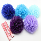 Baby Shower Decoration Tissue Paper Pompom Ball for Wedding Party