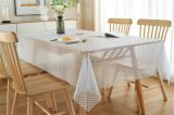 XHM Factory PVC Lace Wedding Tablecloth HD for Picnic in Roll PVC Crystal Tablecloth Wedding Gifts & Crafts