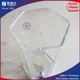 Recycling Square Acrylic Clear Donation Box