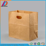 Hot Selling Restaurant Recyclable Take Away Fast Food Kraft Paper Bag