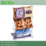 3D Pop up Fabric Straight Exhibition Display Stand