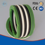 NBR, FKM, PTFE Axial Hydraulic Shaft Rubber V-Ring Seals
