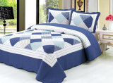 Home Textile Customized Prewashed Durable Comfy Bedding Quilted 1-Piece Bedspread Coverlet Set for 83