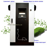 Sheet Metal Fabrication Electric Cabinet EV Charging Station