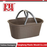 Household Products Plastic Injection Turnover Basket Moulds