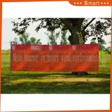 Custom Outdoor Advertising Digital Printing Mesh Fence Banner Design