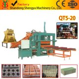 ISO9001 Qt5-20 Automatic Block Making Machine with Good Capacity