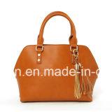2018 Fashion Lady Designer Leather Satchel Handbags with Tassel