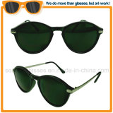 2017 Vintage Black PC Frame Metal Sunglass Tac Polarized Sunglasses