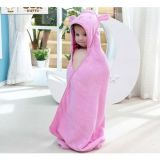 Promotional Hotel / Home Hooded Cotton Baby Blanket / Quilt / Bath Towel Products