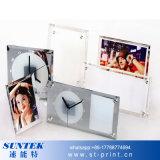"Sublimation Blank 8"" Mirror Edge Glass Photo Frame"