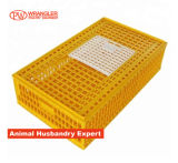 96X56X27cm Plastic Chicken Transport Crate /Poultry Carrying Boxes /Used Poultry Cage Yellow Wholesale