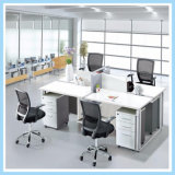 Professional 4 Seater Staff Workstation with Small Office Cubicle