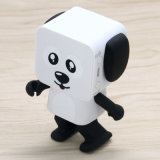 Computer Home Theatre Mini Cute Dance Animal Little Dog Robot Panda Dancing Speaker for Mobile Phone