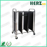 Electronic ESD Trolley Antistatic PCB Circulation Cart