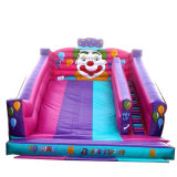 Commercial Clown Jumping Castles Inflatable Slide for Kids