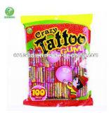 2.50g European Tattoo Bubble Gum in Bag
