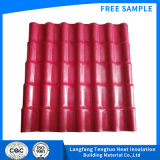 Heat Insulated PVC Roofing Tile Tejas