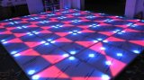 Fashionable Wire LED Interactive RGB Dance Floor Panel DJ Bar Disco Wedding for Sale