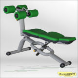 Professional Exercise Equipment Body Crunch Bench for Gym