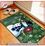 Custom Christmas Series Cartoon Printed Door Kitchen Bedroom Living Room Bathroom Bibulous Non-Slip Mat