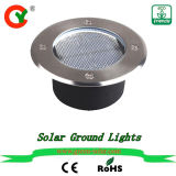 Solar Ground Light DC Power New Outdoor Waterproof LED Energy Underground Light for Yard Driveway Lawn Pathway Home Road Villa Street Garden Factory Sell