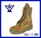 High Quality Genuine Leather Military Army Police Tactical Boots (SY-0088)