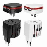 Universal USB Plug Travel Adapter for Mobile Phone AC/DC Popular Converter Plug Au/EU/Us/UK Plug Universal Travel Adapter Wall Charging Worldwide All in One
