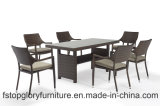Modern Design Outdoor Garden Furniture Rattan Dining Set with Table