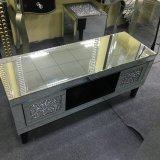 Brand New Crushed Diamond Mirrored Mosaic TV Cabinet