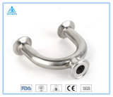 Sanitary Stainless Steel Clamp U-Type Reducing Tee (Short) 3A/SMS/DIN/ISO/Idf 304/316L