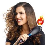 Electric Straight Wireless Hair Straightener Comb Iron Brush