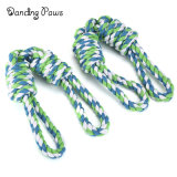 Wholesale Stock Large Dog Toy Tug of War Knot Cotton Rope Double Handle Toy Pet Products