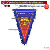 Sports Club Flag Events Hanging Triangle Banners Custom Soccer Flag (C1119)