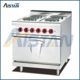 Eh787b Electric 4 Hot Plate with Electric Oven (Round)