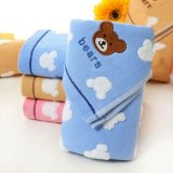 Cheap 100% Cotton Hand Towel Kid's Face Handkerchief Towel