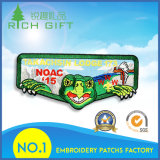 Customized Embroidery Landscape Design Patch with Factory Price for Uniform Clothing