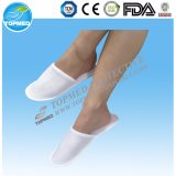 Popular Disposable 100% Towel Hotel Slipper with High Quality