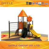 Colorful Children Playground Equipment with Climbing Net