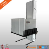 Vertical wheelchair lift