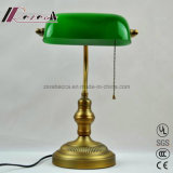 Modern Design Golden Antique Banker Table Lamp for Bedroom